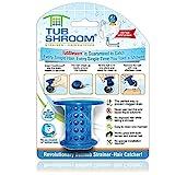 TubShroom Tub Drain Protector Haar Catcher Zeef Snare Siliconen Blauw Standaard