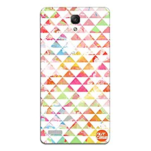 Designer Xiaomi Redmi Note Prime Case Cover Nutcase - Triangular Watercolor