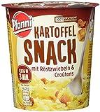 Pfanni Kartoffel Snack Kartoffelpüree mit Röstzwiebeln & Croûtons, 8er-Pack (8 x 56 g)