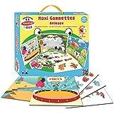 Joustra-Maxi pegatinas de animales reutilizables, cuaderno plastificado, ref. 41911