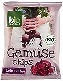 biozentrale Gemüse Chips Rote Beete, 6er Pack (6 x 90 g)