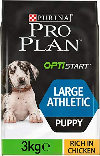 PRO PLAN Large Puppy Athletic avec OPTISTART Riche en Poulet - 3 KG - Croquettes pour chiots de grande taille