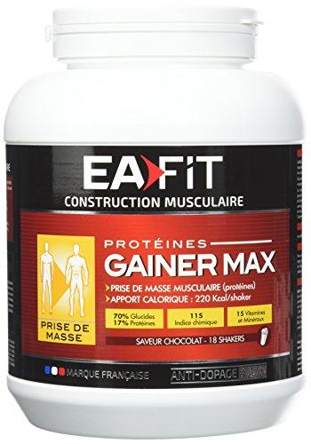 EAFIT Gainer Max Glucide Délice de Chocolat 1,1 kg