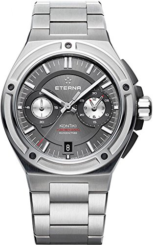 Eterna Royal Automatic Kontiki Chronograph Watch with Manufacturer 7755.40.50.0280