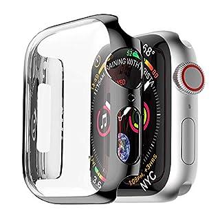 Arktis Hülle Schutzhülle Fashion Case für Apple Watch Series 4 44 mm - Schwarz