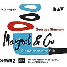 Maigret & Co - Die rätselhaftesten Fälle: Hörspiele mit Hans Paetsch, Horst Tappert u.v.a. (5 CDs)