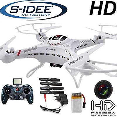 s-idee 01251 Quadrocopter S183C HD Camera, 4.5-Channel, 2.4 GHz, Drone with Gyroscope Technology