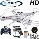 Als Geschenkidee zu Weihnachten bestellen Für den Freund - s-idee 01251 Quadrocopter S183C HD KAMERA 4.5 Kanal 2.4 Ghz Drohne mit Gyroscope Technik