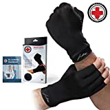 Doctor Developed Copper Arthritis Gloves/Compression Gloves and DOCTOR WRITTEN HANDBOOK -Relieve Arthritis Symptoms