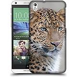 Super Galaxy Coque de Protection TPU Silicone Case pour // F00031072 Primer plano de leopardo // HTC Desire 816