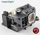 Woprolight NP16LP Ersatzlampe mit Gehäuse für NEC Projektoren