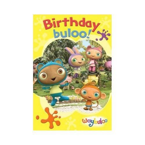 Waybuloo - Birthday Card With Stickers