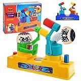 Egosy Plastic Battle Robot Hammer Toys Interaktive Tischspiele zur Druckreduzierung Battle Robot Hammer Toy Zähler Spieltisch Spielzeug Druck Release Für Früherziehung Aktivitäten