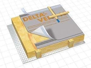 unterspannbahn unterdeckbahn d rken delta vent n 75 m. Black Bedroom Furniture Sets. Home Design Ideas