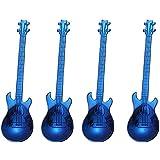 XZANTE Paquete De 4 Patrón De Guitarra Cuchara De Café Musical De Acero Inoxidable Cucharilla De