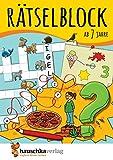 Rätselblock ab 7 Jahre: Kunterbunter Rätselspaß: Labyrinthe, Fehler finden, Kreuzworträtsel, Punkte verbinden u.v.m. (Rätseln, knobeln, logisches Denken, Band 632)