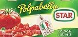 Star Polpabella Succo Pomodoro 100% Italiano - 1 Confezione da 3 pezzi x 400 gr (1200 gr)