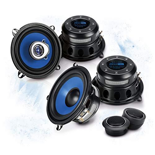 sinustec Frontal/Trasera 13cm/130mm Auto Altavoz/Cajas/Speaker Set Completo para Renault