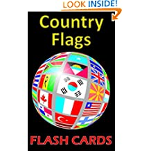 Country Flag Flash Cards: Double Sided with Color!