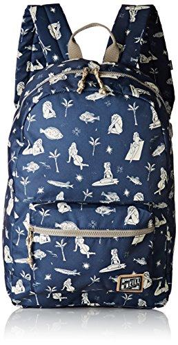 O'NEILLBm Coastline Backpack - mochila Hombre , azul (Bleu (Blue Aop)), 20x46x46 cm (W x H x L)