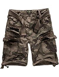 4ef5e88854 Geographical Norway Cortos Cargo Pantalones Cortos Bermudas Con Cinturón Pantalones  cortos Hunter en el Bundle con