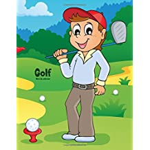 Golf libro de colorear 1: Volume 1