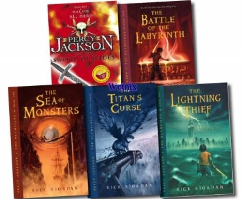 Percy Jackson & the Olympians Boxed Set: The Lightning Thief, the Titan's Curse, the Sea of Monsters, the Battle of the Labyrinth