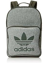 Adidas BP Class Casual Mochila, Unisex Adulto, Marrón (Carnoc/Blanco), 24x36x45 cm (W x H x L)
