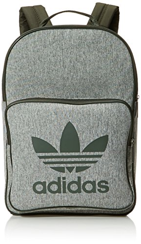adidas BP Class Casual, Mochila Unisex Adulto, Marrón (Carnoc/Blanco), 24x36x45 cm (W x H x L)