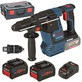 Bosch 061191000D Akku-Bohrhammer ProCORE GBH 18V-26 F SDS plus 2x7,0 Ah-L-Boxx, 1 W, 18 V