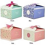Chilly cadeau, boîtes Lot de 12boîtes cadeau décoratif, friandises fait maison, Noël, anniversaires, fêtes, vacances, graduations, mariage, boîtes cadeau