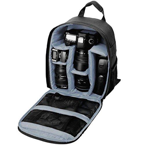 Etbotu fotocamera digitale zaino impermeabile zaino per fotocamera slr dslr video camera bag pe imbottita per fotografo