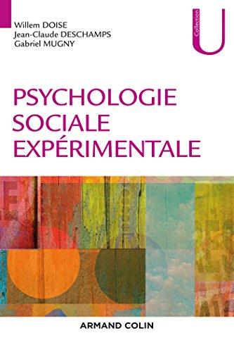 Psychologie sociale exprimentale - 3e d. NP