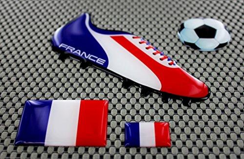 Preisvergleich Produktbild Frankreich WORLD CUP Fußball Fußball Schuh 3D Aufkleber Aufkleber Set