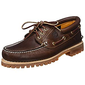 Timberland Authentics 3 Eye Classic, Chaussures Bateau Homme, Marron Brown Pull Up, 44.5 EU