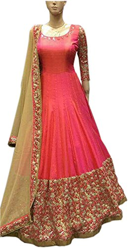 Gowns For Women/Girls/Ladies/Casual/Office/Party Wear Women\'s Dress Material Salwar Suits For Women/Gown for Women/Anarkali Suits(New Collection Fancy And Regular Wear Unstiched Salwar Suit Dress Mat