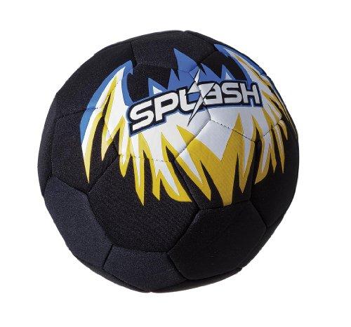 Fashy Pool- & Strandspielzeug Strand Fußball, blau, schwarz, 8602 (Ball Strand Fußball)