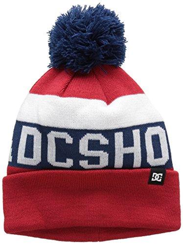 """DC Shoes-Cappello da bambino, modello """"Chester"""", taglia unica, colore: rosso"""