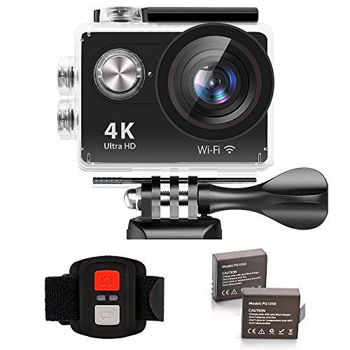 ixroad action kamera 4k ultra hd 12mp action cam 2 zoll. Black Bedroom Furniture Sets. Home Design Ideas