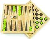 Reduziertes Holz-Backgammon von HaPe | 51RoQnKCVJL SL160