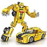 Baustein Roboter Spielzeug, joylink Gebäude Konstruktionsspielzeug Robot Kits STEM Spielzeugen Roboter auto…