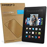 Cover-Up UltraView Lot Cristal Clair invisible de l'écran protecteur pour Amazon Kindle Fire Tablette