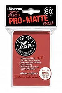 Ultra Pro Sleeves Pro-Matte D10 Card Game (Small, Red) Fundas para Cartas, Color (E-84263)