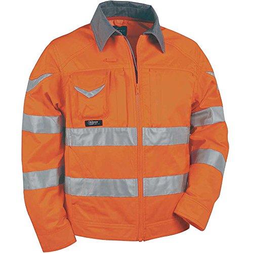 Giubbotto da lavoro ad alta visibilità Cofra Warning Orange
