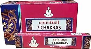 Spirtual 7 chakras Premium varillas