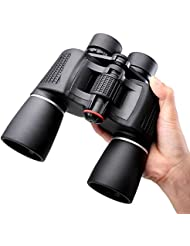 NOCOEX® 10X50 Prismáticos Super High-Powered prisma Porro Binoculars - (negro)