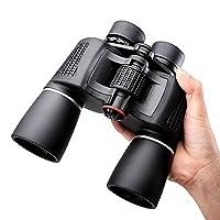 NOCOEXŽ 10X50 Super High-Powered Porro Prism Binoculars - (Black)