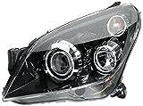 HELLA 1ZS 008 710-321 Halogen Hauptscheinwerfer, Rechts, für Fahrzeuge mit Kurvenlicht, mit Stellmotor für LWR