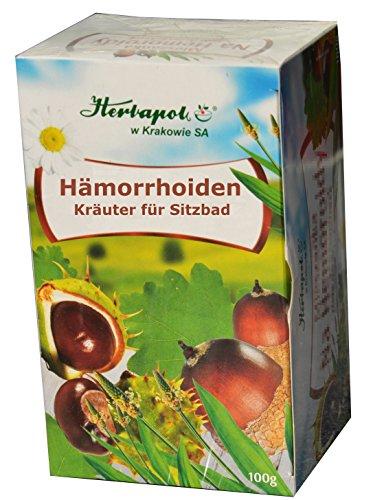 Kräutermischung bei Hämorrhoiden, schlechtheilenden, eitrigen Wunden, Ekzem, Hautentzündung,...