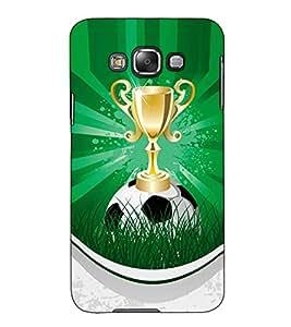 Fuson Designer Back Case Cover for Samsung Galaxy E5 (2015) :: Samsung Galaxy E5 Duos :: Samsung Galaxy E5 E500F E500H E500Hq E500M E500F/Ds E500H/Ds E500M/Ds (Winning trophy theme)